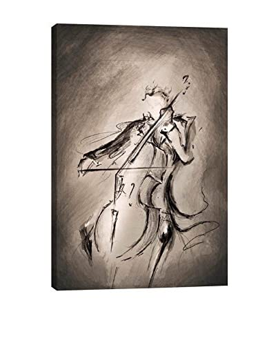 Marc Allante Gallery The Cellist Canvas Print