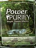 Power Purify Herbal Detox Foot Pads (Pack of 10)
