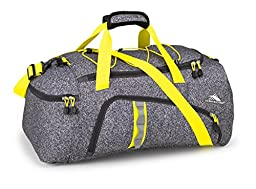 High Sierra Crossport 2 Jitter Duffel Bag, Static/Mercury/Sunburst