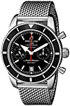 Breitling Mens A2337024-BB81 Stainless Steel Automatic Watch