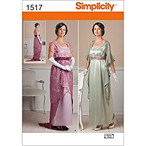 1890s-1905 Edwardian Gibson Girl Era Clothing Links Simplicity Edwardian Titanic Patterns  $9.83 AT vintagedancer.com
