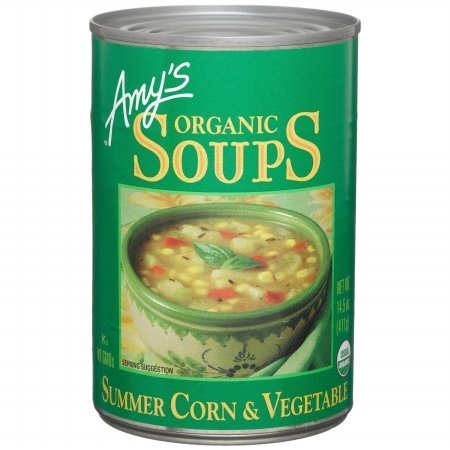 Amys Kitchen 61548 Organic Summer Corn & Vege Soup