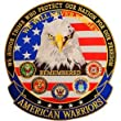 American Warriors 5 inches Patch