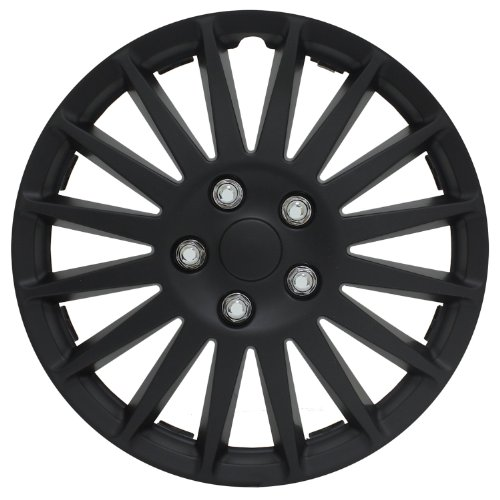 Pilot Automotive WH521-14C-B All Black 14″ Indy Wheel Cover, (Set of 4) image