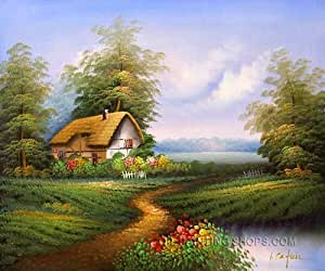 Bliss canvas paintings reproduction for sale for Oil paintings for sale amazon