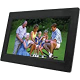 NAXA Electronics NF-1000 10.1-Inch TFT LCD Digital Photo Frame with LED Backlight 1024 x 600 (Black)