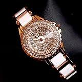 Evana Luxury Rhinestone Party Bracelet Watch , Watches for Women