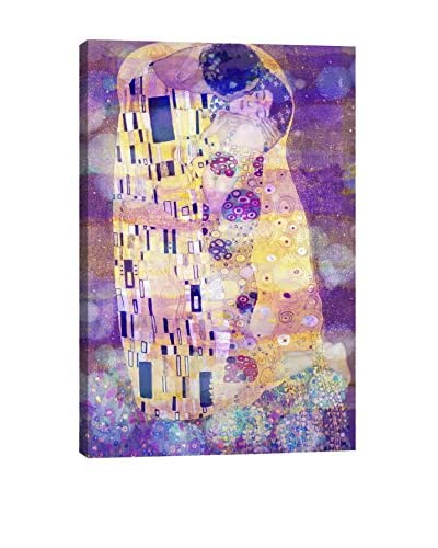 The Kiss II Gallery Wrapped Canvas Print