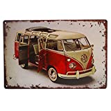 Retro Tin Sign, Street Rod, for the Garage Bus Combi Garage Car Sign Cafe Bar Pub Home Wall Decor Craft Wall Painting