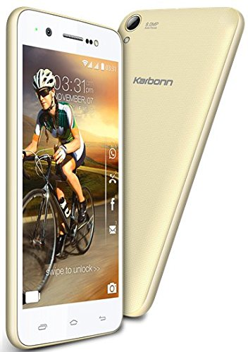 Karbonn MACHONE (White-Golden) Just Rs 6,999 Only Limited Stock