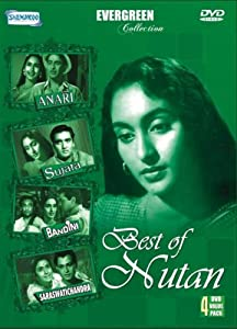 Best of Nutan- Evergreen Collection (4 Classic Hindi Films / Bollywood Movies / Indian Cinema in 4 DVD pack)