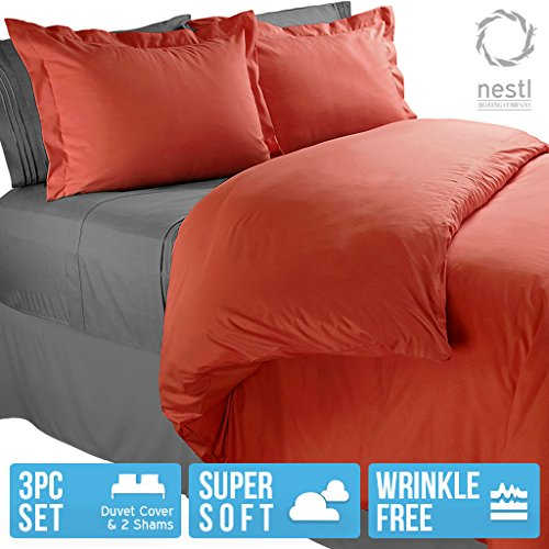 Nestl Bedding Duvet Cover Protects And Covers Your