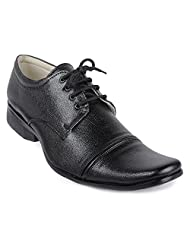 Windus Black Office Wear Shoes.