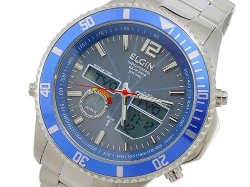 [エルジン] ELGIN  腕時計 ソーラー電波 アナデジ FK1392S-BLP メンズ [国内正規]