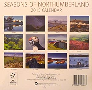 Calendar 2015 Seasons of Northumberland