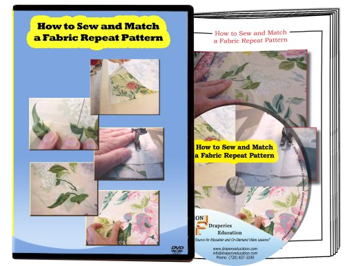 How to Sew and Match a Fabric Repeat Pattern