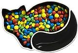 Sagaform Stoneware Black Cat Serving Bowl