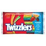 Twizzlers Twists, Rainbow, 12.4-Ounce Bags (Pack of 6)