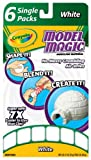 Crayola Model Magic Single Packs White (6 Single Packs)