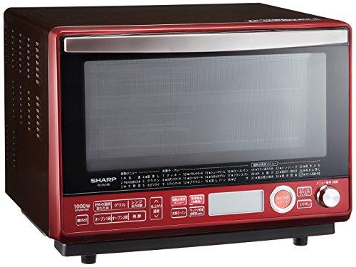 シャープ オーブンレンジ 2段調理 過熱水蒸気 31L レッド系 RE-SS10B-R