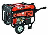 510LYWT7ngL. SL160  DuroMax Elite MX4500E 4,500 Watt 7 HP OHV 4 Cycle Gas Powered Portable Generator With Wheel Kit & Electric Start