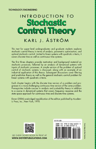 Introduction to Stochastic Control Theory (Dover Books on Electrical Engineering)