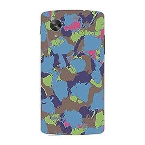 Garmor Designer Plastic Back Cover For LG Nexus 5