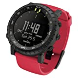 Suunto Core Crush Altimeter Watch Red Crush, One Size
