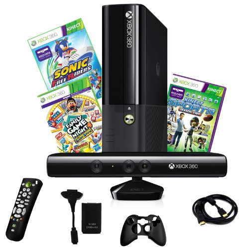 xbox-4gb-kinect-console-with-2-games-and-4-in-1-accessory-kit-bundle