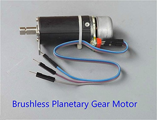 Generic New 5V-12V 52RPM Micro Brushless Planetary Gear Motor DC Geared Motor With Hall Sensor For Diy