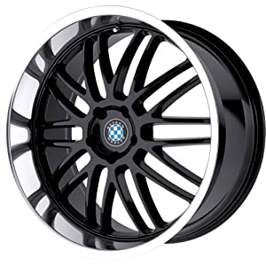 Beyern Mesh Gloss Black Wheel with Machined Lip (18x8.5