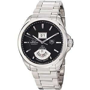 TAG Heuer Men's WAV5111.BA0901 Grand Carrera Grand Date GMT Watch