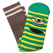 Toy Machine Sect Eye Stripe Crew Socks