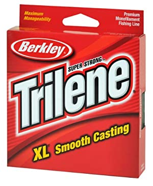 Berkley XLPS6-15 Trilene XL Mono, 6-Pound, 110-Yard, Clear