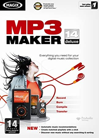 MP3 Maker 14 Deluxe [OLD VERSION]