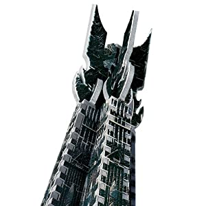 Wrebbit 3D Lord of the Rings Orthanc Tower Isengard 3D Puzzle