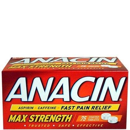 Anacin Aspirin Dose