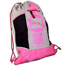 Ringside Boxing Glove Bag, Pink/Grey, One Size