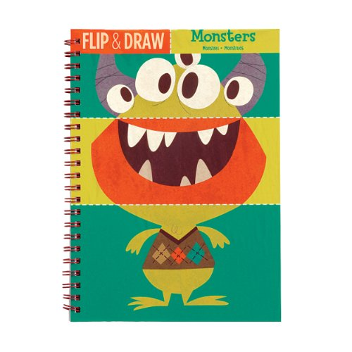 Mudpuppy Monsters Flip and Draw - 1