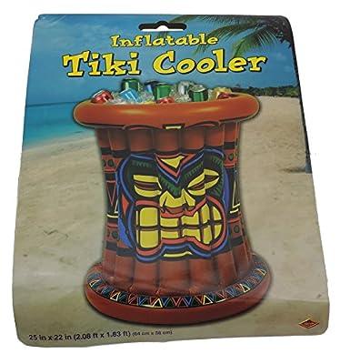 Inflatable Tiki Hawaiian Luau Party Buffet Inflatable Cooler