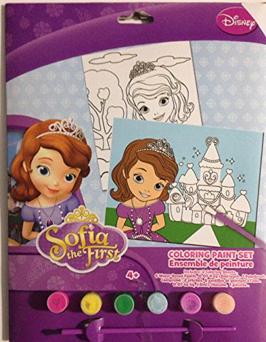Disney Princess Sofia the First Coloring Paint Set