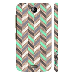 Micromax Canvas Q336 Sea Leaf designer mobile hard shell case by Enthopia