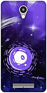 The Racoon Grip Purple Haze hard plastic printed back case / cover for Xiaomi Redmi Note 2