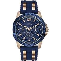 Guess Analog Blue Dial Men's Watch - W0366G4