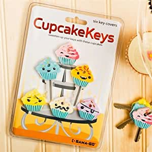 Amazon.com : Cupcake KEY Covers Caps Gama Go Identifiers Novelty