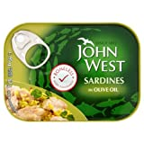 John West Boneless Sardines in Olive Oil 6x95g