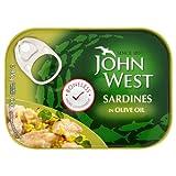John West Boneless Sardines in Olive Oil 6x95g