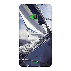 Falling Boat Back Case Cover for Lumia 535