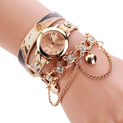 Sannysis-Women-Leopard-Band-Bracelet-Quartz-Braided-Winding-Wrap-WristWatch-Beige