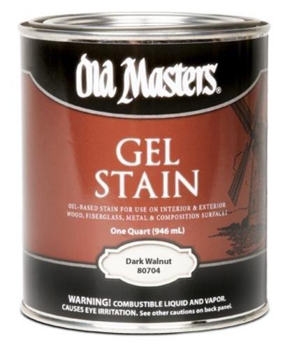 Old Masters 19073 80716 Dark Walnut Gel, 0.5 pint by Old Masters (Old Masters Dark Walnut Gel Stain compare prices)